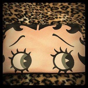 Betty boop make up bag